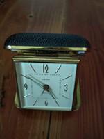 Antik art deco utazóóra asztali összecsukható óra