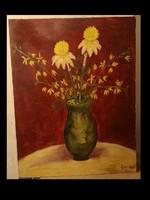 Séday Éva:Virágcsendélet
