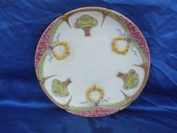 1.db antik majolika fali tányér
