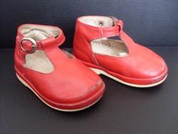 Gyerek bőrcipő