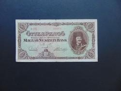 50 pengő 1945 D 025 Ritkább bankjegy
