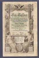 1 Gulden 1866 eredeti állapotban