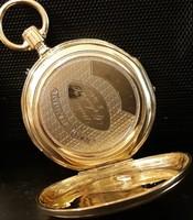 14 karátos (585) arany zsebóra tok - javitandó