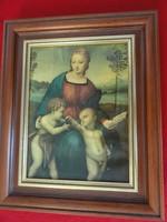Raffaello Sanzio Festmény másolat valódi festés nem fotó