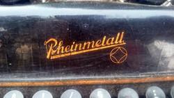 Régi német írógép dekor,vintage,loft,industrial, kiegészitő,kreativ célra is,esetleg alkatrésznek