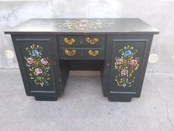 Egyedi antik fenyő íróasztal