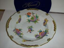 Herendi viktória mintás leveses tányér