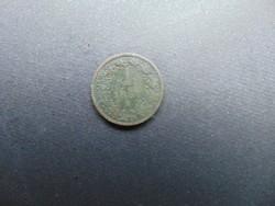 1 krajcár 1861 B