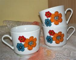 Kahla porcelán teás, kapucsínos csésze, 3 db