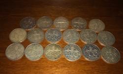 1992-1994 ezüst 200 forintosok