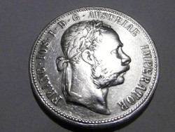 Ezüst 1 Florin Ferenc József