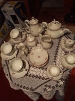 Porcelán teás és kávéskészlet