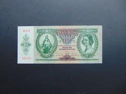 10 pengő 1936 B 999 aUNC ! Hajtatlan bankjegy