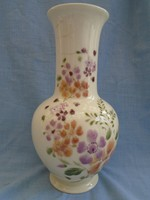 Zsolnay váza jubileumi pecséttel  26 cm magas