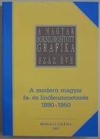 Modern fa- és linóleummetszés története (katalógus)