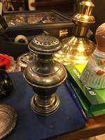 Ezüst fűszerszóró 14 cm-es, szép állapotban, ajándék.