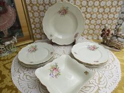 Antik 6 személyes vacsorázó készlet  Bavaria Mariatheresia