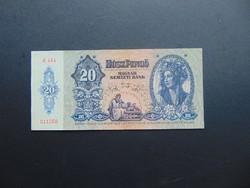 20 pengő 1941 C 484 aUNC ! Hajtatlan bankjegy