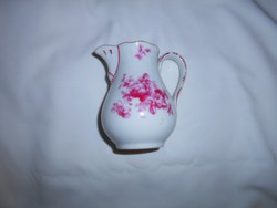Meisseni jelzett porcelán tejszínes kancsó