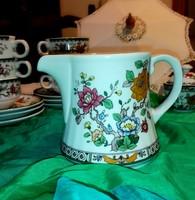 Gyönyörű Ceranova finom porcelán kiöntő, kancsó ,kézzel dekorált.