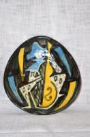 Kerámia fali tányér  ( DBZ 00120 )