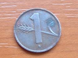 SVÁJC 1 RAPPEN 1951 B
