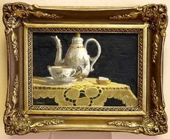 GISZINGER IMRE /1895 - 1936/:Asztali csendélet