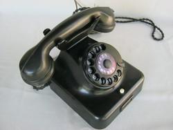 Bakelit tárcsás telefon