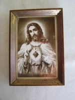 Régi Jézus szentkép