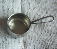 Retro kávé kiöntő, kifolyó, örök darab acélból