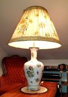 Gyönyörű Óriási 108cm Herendi Viktoria mintás lámpa