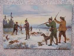 Magyar Vádaszok,1916.Képeslap