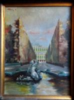 Sassy Attila eredeti festménye