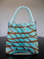 Gyönyörű hibátlan Muránói üveg táska