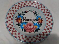 Antik Apátfalvi tányér