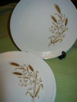 Aranykalászos Kahla  tányér 6 db 19.5 cm