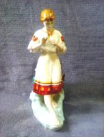 Hatalmas méretű női porcelán szobor