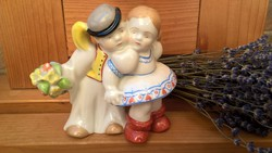 Zsolnay Gyerekpár Ritka