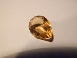 Citrin - 4,5 ct, természetes, aranysárga, zárványmentes