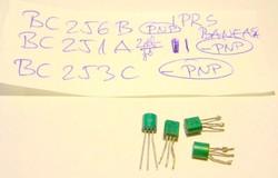 BC256B BC251A BC253C ősrégi IPRS tranzisztorok audio,stb.