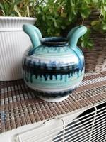 Retro kétfüles kerámia váza