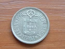 PORTUGÁLIA 5 ESCUDOS 1990 CSIPKE