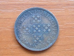 PORTUGÁLIA 50 CENTAVOS 1973