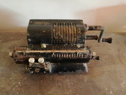 Számológép Original Odhner Modell 602No5 Svédország