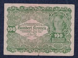 Ausztria 100 Korona 1922 / id 11034/
