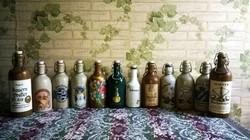 Vegyes , 13 darabos , csatos palack gyűjtemény