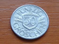 AUSZTRIA OSZTRÁK 50 GROSCHEN 1947 ALU.