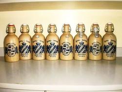 Csatos , Osztrák kerámia palack gyűjtemény