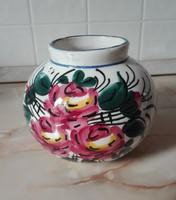 Antik, olasz, gömb kerámia váza