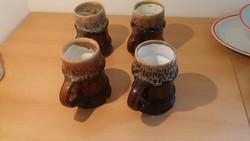Zsolnay pirogránit söröskorsók